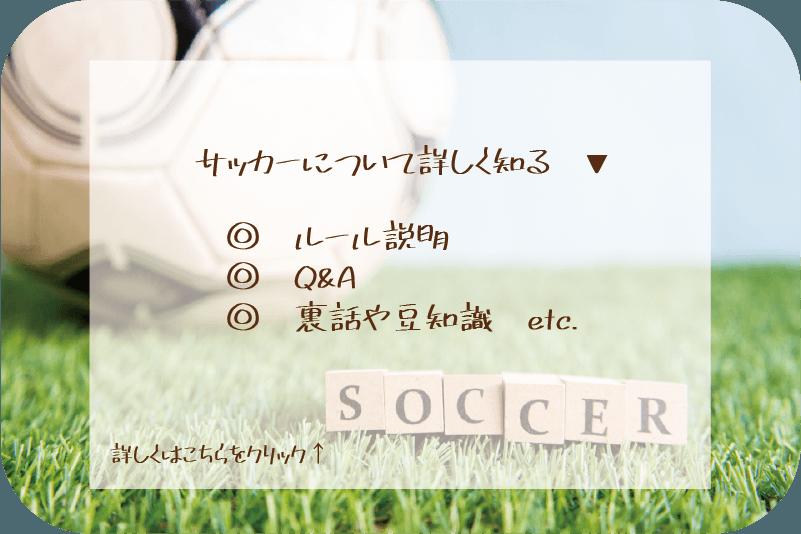 サッカーについて